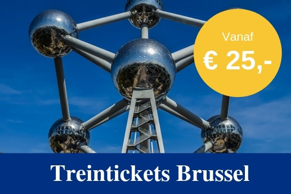 Treintickets Brussel