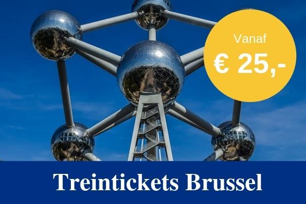 Treintickets Brussel