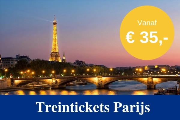 Treintickets naar Parijs