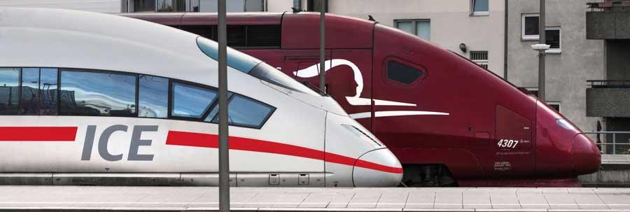 Internationale treintickets kopen