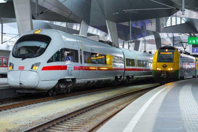 internationale trein europa